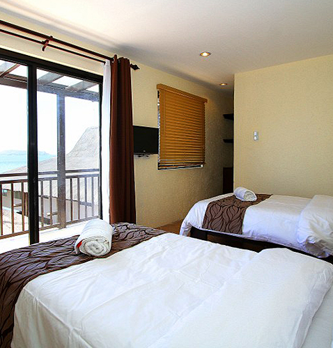 Superior Room small affordable inexpensive cheap room dive resort with overlooking room view